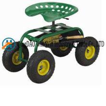 Assento de carrinho de jardim Tc1852 roda de caminhão de mão
