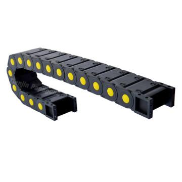 Cadena de cable de plástico / cadena de arrastre / cadena de energía / portacables