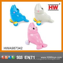 Новый дизайн Красочный 12CM B / O Дельфин игрушка с музыкальным 6PCS / BOX