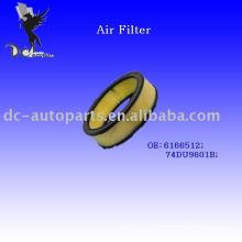 Élément de filtre à air pour Ford OE: 6166512