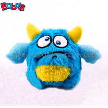 Eco-Friendly Material Blue Monster Pet Toy Plush Stuffed Dog Toy with Squeaker Bosw1063/10cm