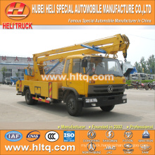 DONGFENG 4x2 HLQ5108GJKE truck with lift platform 18M cheap price hot sale for sale