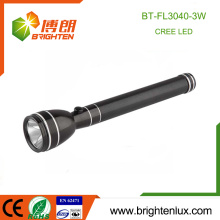 Factory Wholesale Ni-Mh Battery Used Metal Material Super Bright Emergency 3watt Cree rechargeable high power led torch light