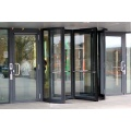 Three-wing Automatic Revolving Doors with Curved Wall