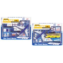 En71 Approuvé Die Cast Plane Toy Set de jouets en métal (H2868062)