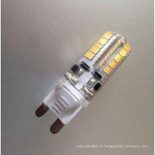 g9 à l'adaptateur de lampe de gu10, lampe menée par g9 12v 220v-240v