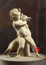 White marble angel statuary