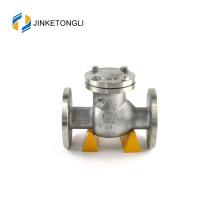 JKTLPC028 clapet anti-retour à bille chargé en acier forgé à double double plaque