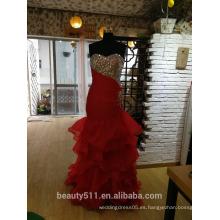 Vestido de fiesta formal del baile de fin de curso Vestido de partido atractivo del amor del ajuste y de la llamarada P096