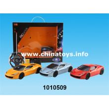 Brinquedos de plástico de controle remoto carro 4-CH R / C Car (com eletricidade) (1010509)