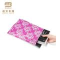 Atacado Personalizado Impresso Boutique 2.5 Mil 10X13 Prova de Lágrimas Designer de Flor China Poly Mailers Saco Com Logotipo