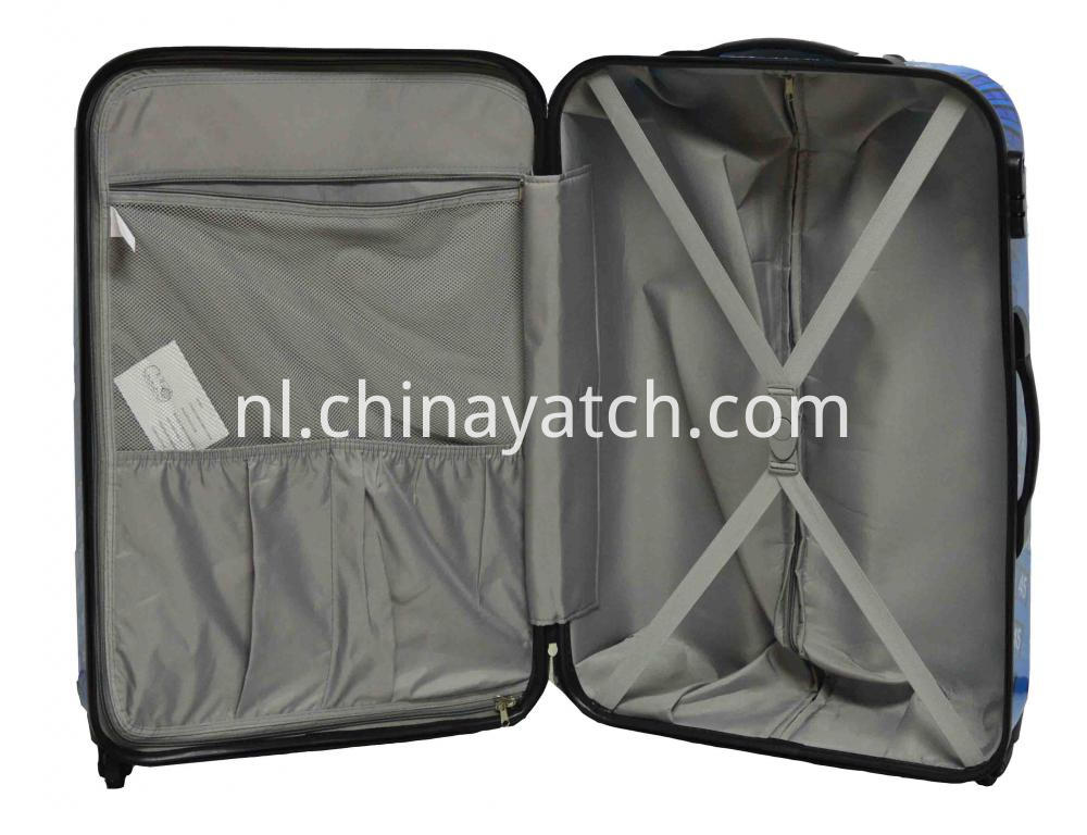 100%PC Printing Luggage Set