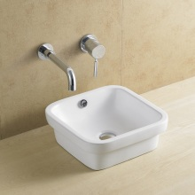 Rectangular Bathroom Porcelain/Ceramic Basin 8110