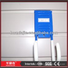 Pvc storage wall panel plastic slatwall wall hooks