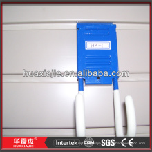 pvc storage wall panel plastic slatwall wall hooks