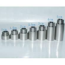BSP NPT Galvanized threaded steel pipe nipple