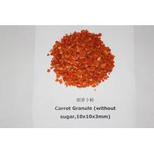 Flocons de carottes déshydratés, granulés