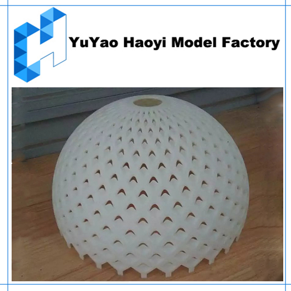 3D Printing Rapid Prototyping Lampshade