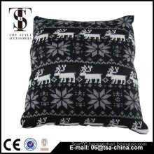 Jacquard snow knitted Decorative Case Christmas cushion