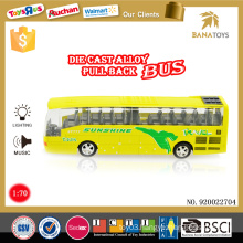 Top sale vehicle toy electrical bus design die cast luxury bus price