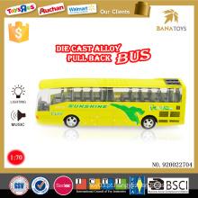 Topo veículo de venda brinquedo elétrico design de ônibus die cast preço de ônibus de luxo