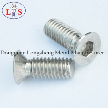 Ss 304 Hexagonal Socket Countersunk Head Bolt