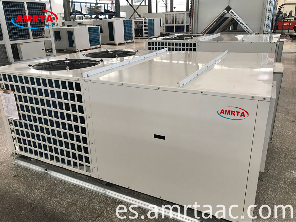 Packaged Unit With Heat Pump