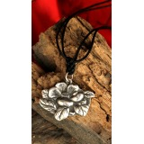 Novel Style Wooden with Silver Pendant Decorations