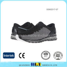 Safety Athletic Men′s Shoes with Mesh Upper