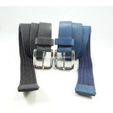 Newly-Designed Elastic Weaving Leather Belt