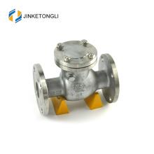 JKTLPC106 control de flujo de acero forjado horizontal detener la operación de la válvula de retención