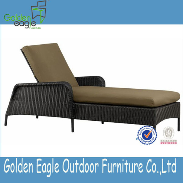 PE rattan outdoor furniture aluminum