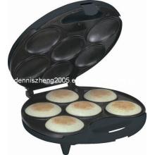 6 porções parte 6 - fazer Arepas profissional & Empanadas de superfície antiaderente Arepa Maker-elétrico