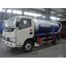 Practical 3000L 95HP Sewage Suction Truck with Dongfeng Chassis