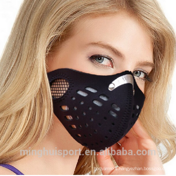 MH motorbike racing dustproof mask breathable and elastic half training mask for sale