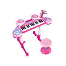 Luxo brinquedo elétrico crianças brinquedo órgão eletrônico com cadeira (h0072028)