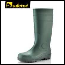 Toe de aço, chapa de aço botas de chuva W-6037G