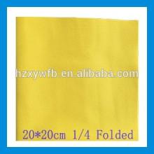 Chiffon de nettoyage non-tissé de microfibre de microfibre de microfibre de polyester de 100%