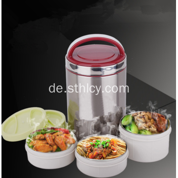 Edelstahl Portable Food Flask Food Container