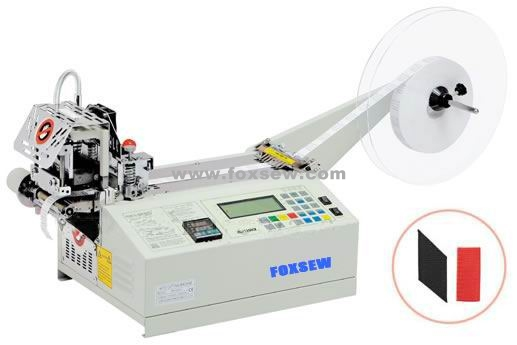 Auto Hot Knife Angle Ribbon Cutting Machine