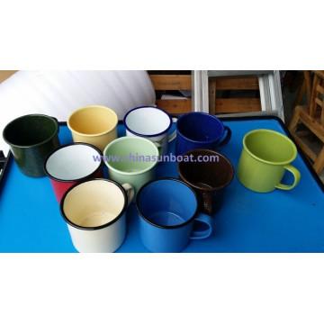 Sunboat Enamel Cup Enamel Water Cup Tableware Kitchenware/ Kitchen Appliance