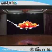 Полноцветный прокат крытый RGB светодиодный экран дисплея HD супер тонкий экран Сид крытый 3.91