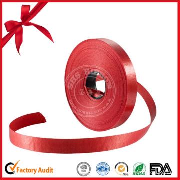 Rollo rojo de encargo al por mayor de la cinta para el regalo decorativo