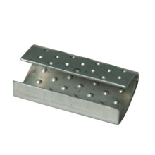 pp strap steel clip metal serrated seals buckle band buckle packaging clip