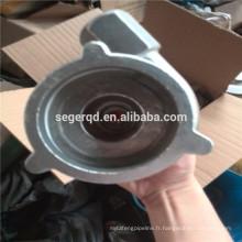 coulée en acier haute chrome et haute teneur en manganèse pour les machines