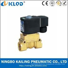 Válvula solenoide de agua a alta temperatura de alta presión de la serie Kl523 24V