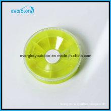 Bx0011 Alta Quaity Plástico Transparente Clip Chumbo Sinker Box