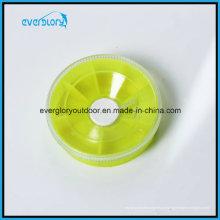 Bx0011 Высокая четкость пластика Clear клип свинца грузило Box