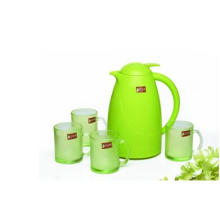Green Apple Color Glass Jug Set Kitchenware Kb-Jh06171