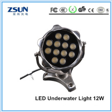 12W LED Underwater Light Single Color